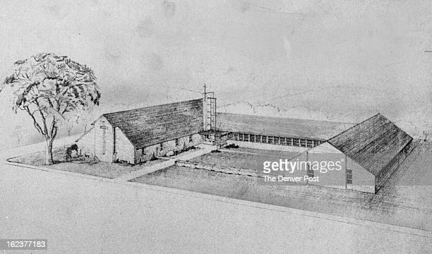 JAN 27 1958 New Church At Longmont Construction of the Christ Congregational Church in Longmont has begun The beautiful sanctuary and Sunday School...