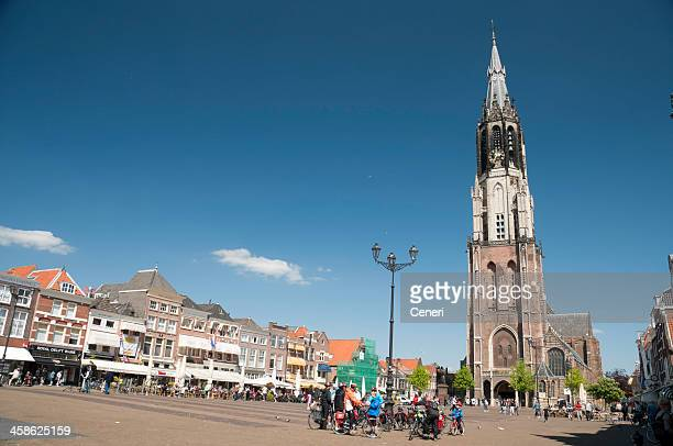 New Church in Markt, Delft, Netherlands