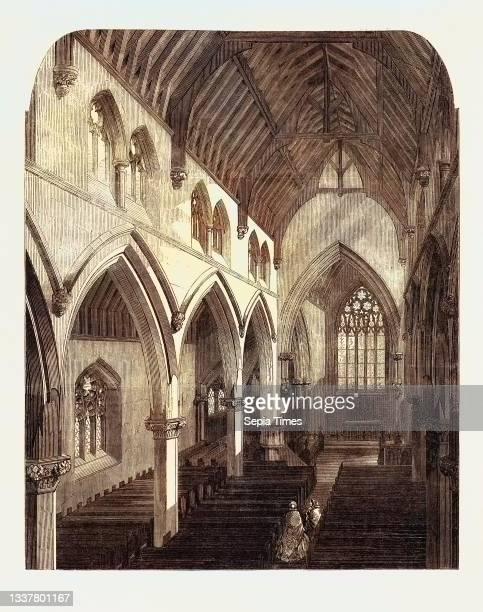 New Church of St. Luke Euston Road St. Pancras.