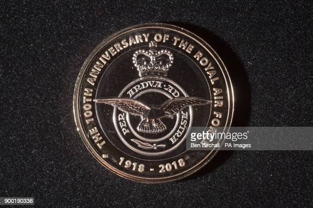 A new circulation pound2 coin design from the Royal Mint marking the formation of the Royal Air Force on the 100th anniversary in 2018