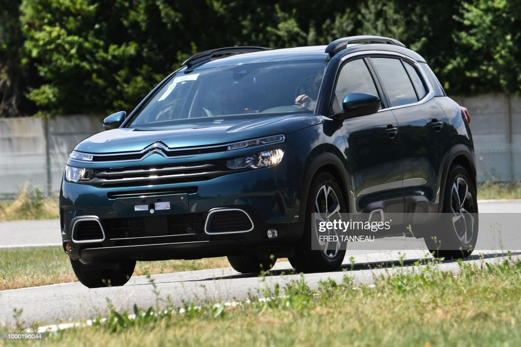 new citroen suv c5 aircross is pictured during tests at the psa firm news photo getty images. Black Bedroom Furniture Sets. Home Design Ideas