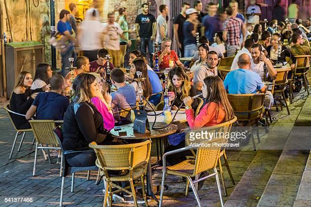 New City, bars and restaurants in Havilio square