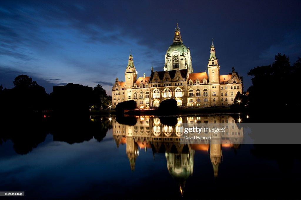 New City Hall, Hannover : Stock Photo