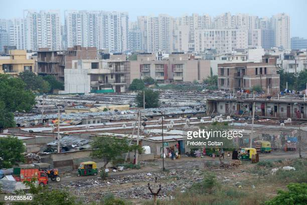 New City of Gurgaon in India Gurgaon is a satellite city of New Delhi which has grown quickly over the past 30 years The economic boom has created a...