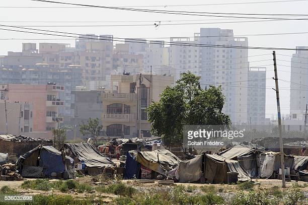 New City of Gurgaon in India