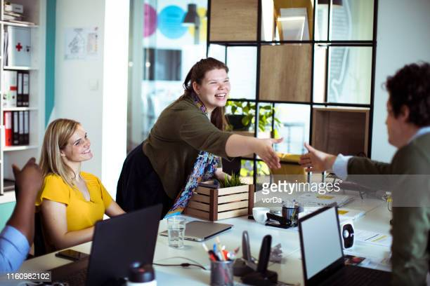 new colleague - new stock pictures, royalty-free photos & images
