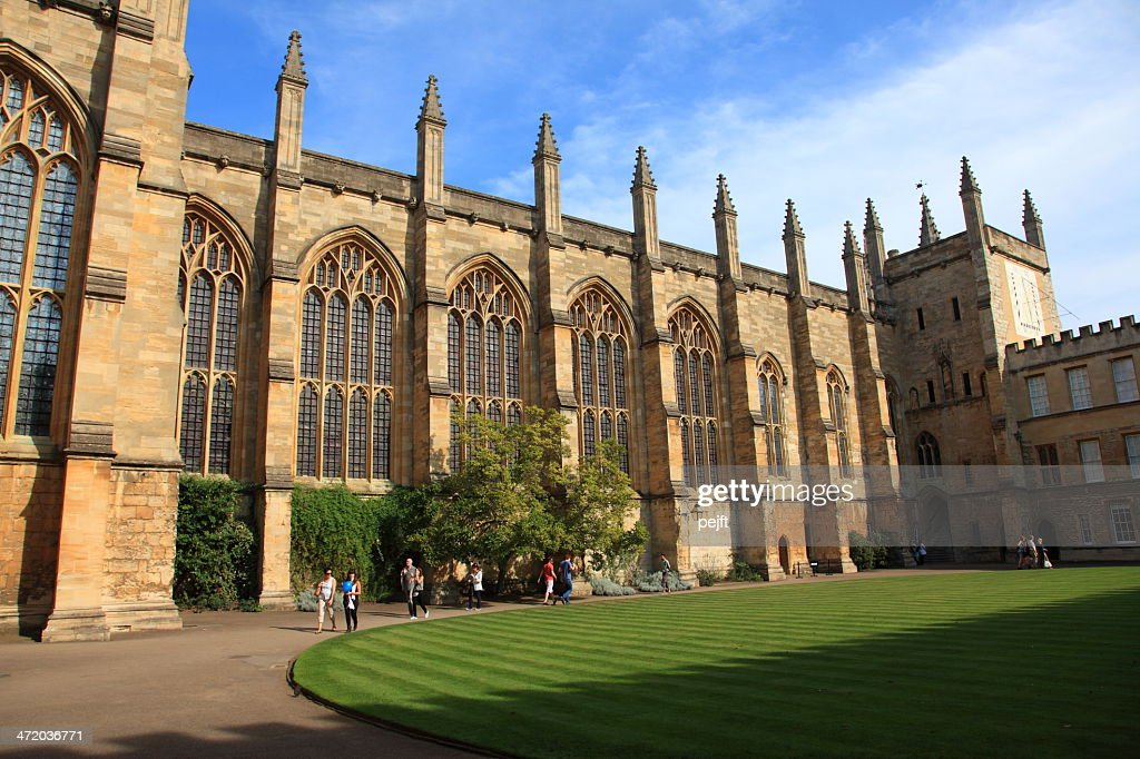 New College Oxford, England : Stock Photo