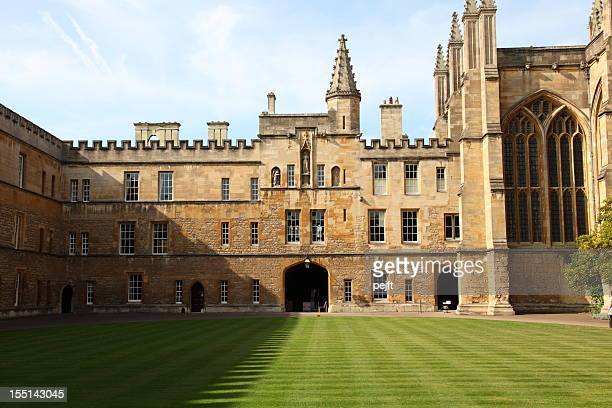 new college oxford - oxford university stock pictures, royalty-free photos & images