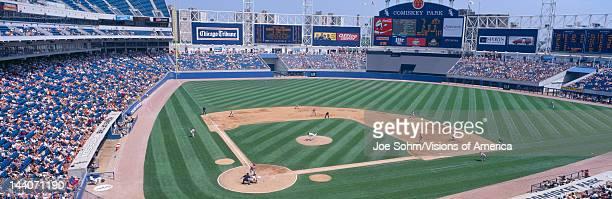 New Comiskey Park Chicago White Sox v Rangers Illinois