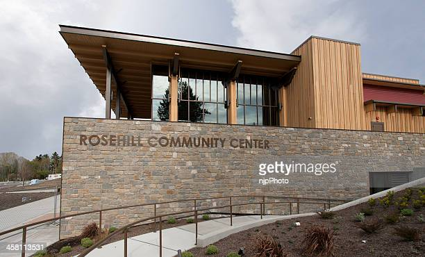 new community center - community centre stock pictures, royalty-free photos & images