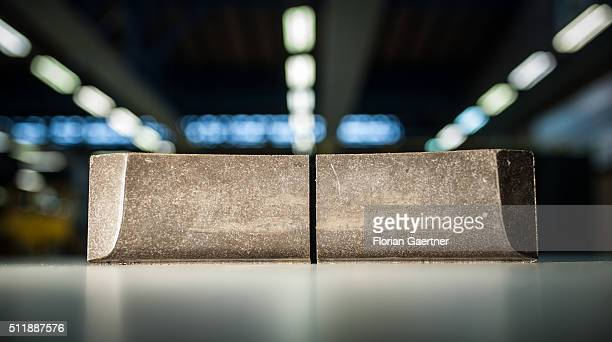 A new composite LL brake blocks captured on February 22 2016 Until 2020 all trains of Deutsche Bahn are going to reequip with these quiter brake...