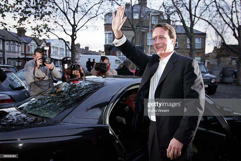 David Camerons First Day As Tory Party Leader : News Photo