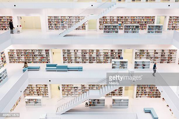 new contemporary public library
