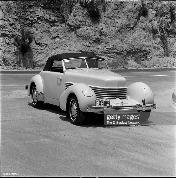 New Cord 8/10 Sportsman. A scaled-down version of the 1936-37 Cord 810 convertible. This prototype is the brainchild of Glenn Pray, president of the...