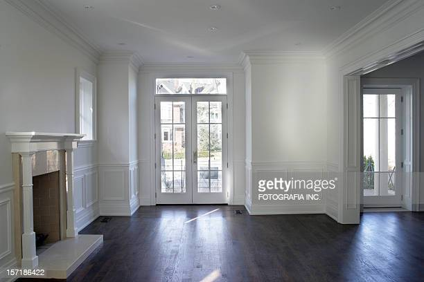 new cuctom interior - french doors stock pictures, royalty-free photos & images