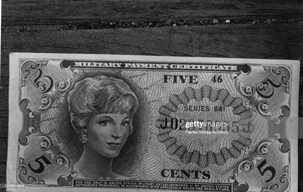 New Currency Issued To Australian, U S  Troops In Vietnam