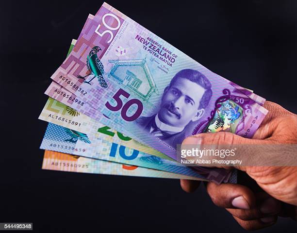 New Zealand Currency Stock Pictures