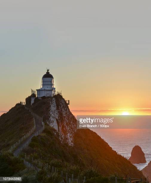 New day at the Nugget Point, NZ