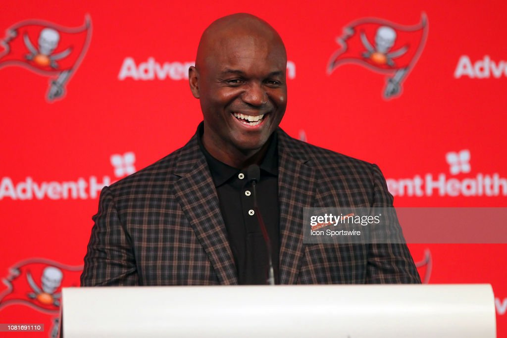 NFL: JAN  11 Bucs Coaches Press Conference : News Photo