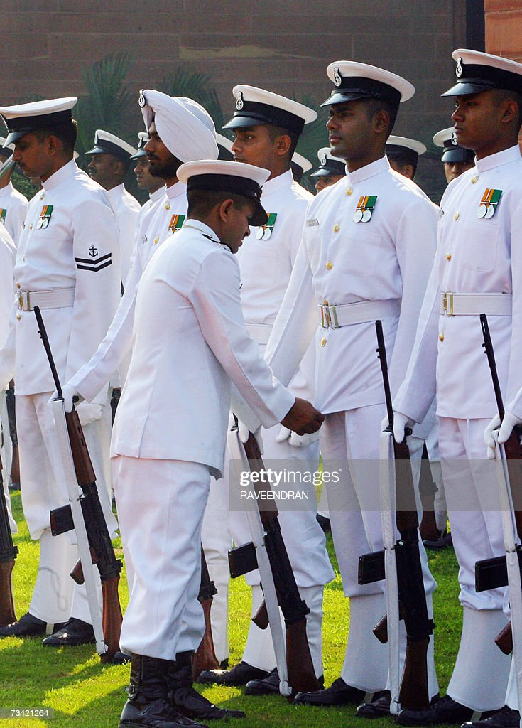 Indian navy dress color