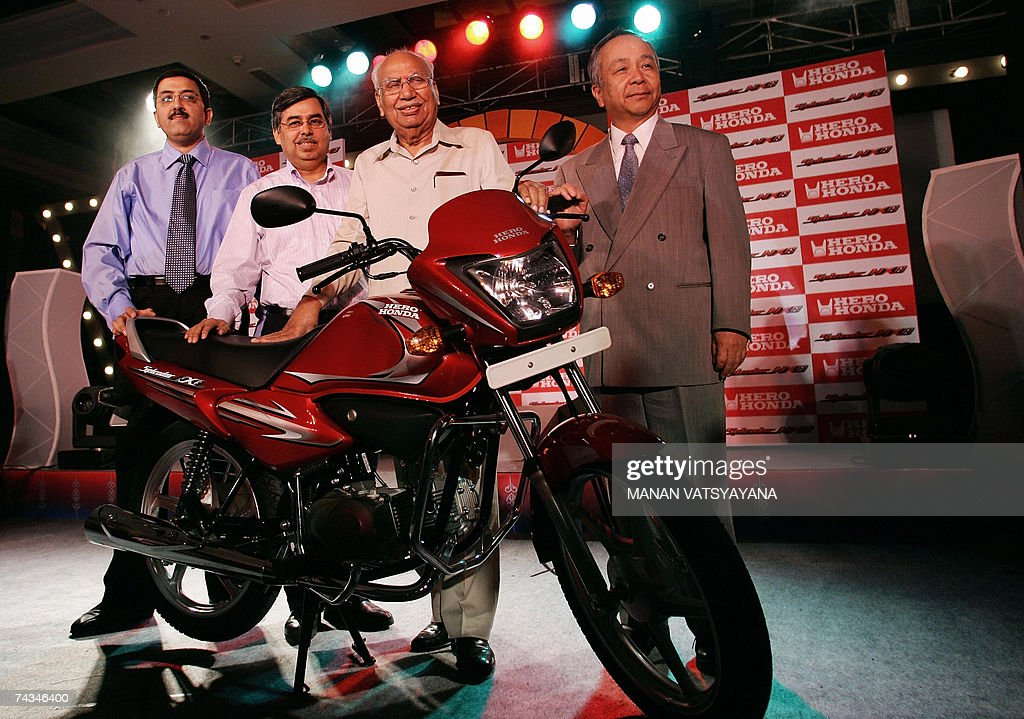 Chairman Hero Honda Motors Ltd HHML Brijmohan Lal 2R And Managing Director