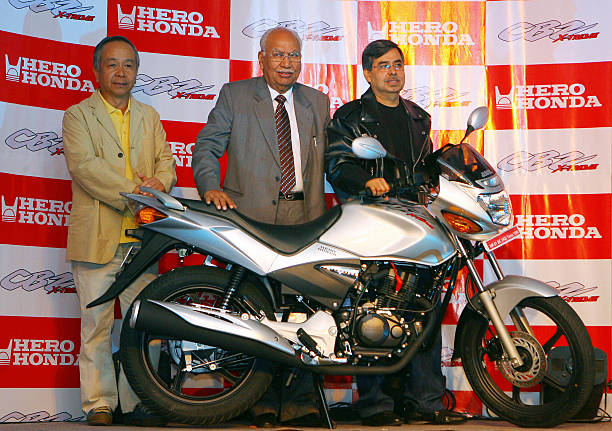 Chairman Of Indias Hero Honda Motors Lt