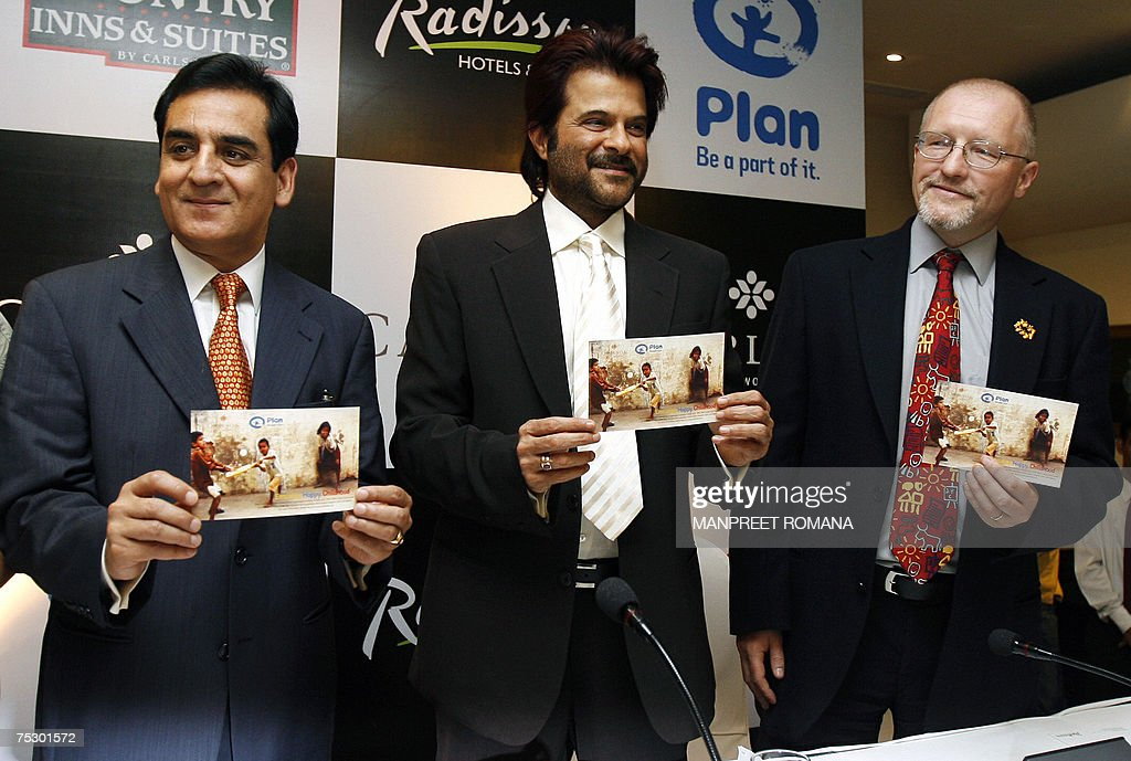 Executive Vice President South Asia Carlson Hotels Pacific K B Kachru Indian Bollywood Actor And