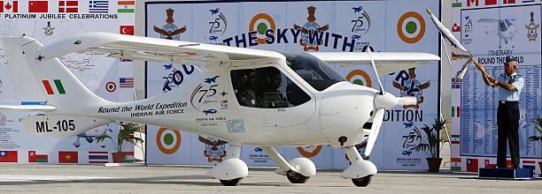 Photos et images de Indian Air Force Uses Microlight