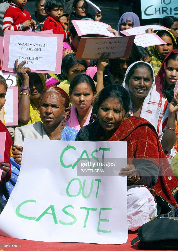 Indian Dalit (Oppressed) Christian and M... : News Photo