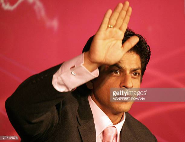 Indian film actor Shah Rukh Khan, the new host of television show 'Kaun Banega Crorepati' which is based on the format of UK show 'Who Wants to be a...