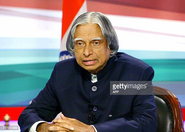 Indian president Dr APJ Abdul Kalam addressed the nation on the eve of India's Republic Day 25 January 2007 India will celebrate it's transition to a...