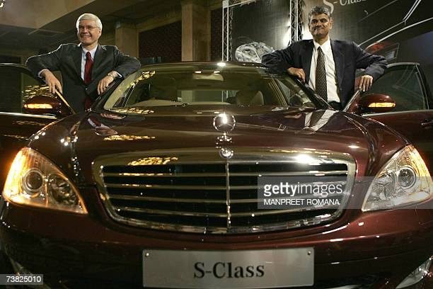 Managing Director and Chief Executive Officer of DaimlerChrysler India Wilfried G Aulbur and Director of Corporate Affairs and Finance...