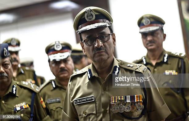 New Delhi Police Commissioner Alok Kumar Verma arrives at PHQ on February 29 2016 in New Delhi India Senior IPS Officer Alok Kumar Verma took charge...