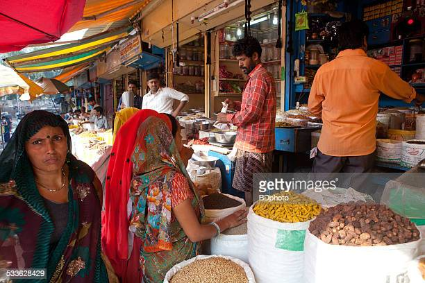 New Delhi spice market