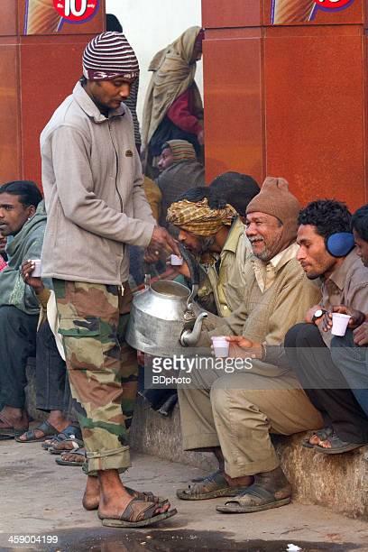New Delhi street life