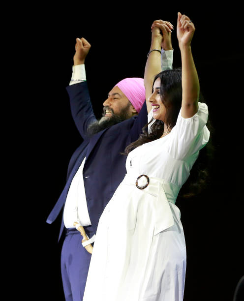 CAN: New Democratic Party Leader Jagmeet Singh Delivers Remarks At Election Night Event