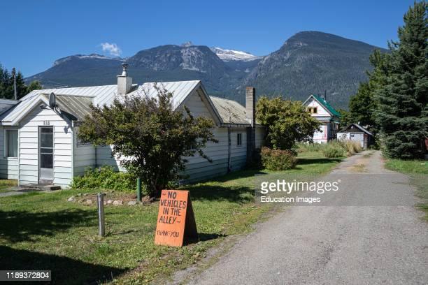 New Denver Slocan Valley West Kootenay British Columbia Canada