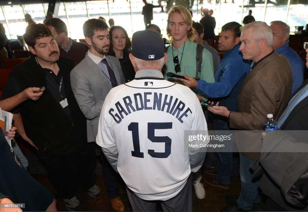 Detroit Tigers Introduce Ron Gardenhire : News Photo