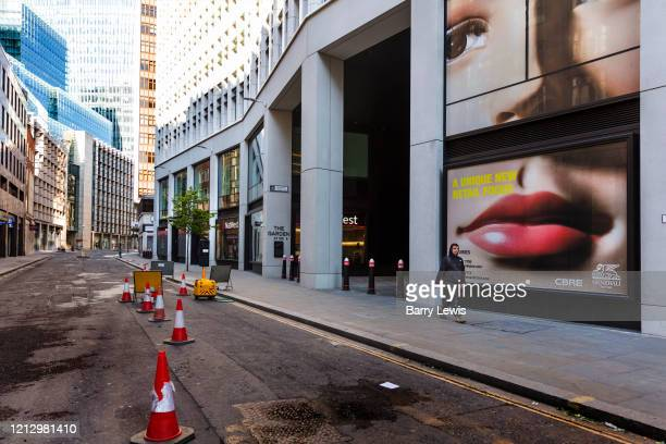 New Development Fen Court on Fenchurch Street during the coronavirus pandemic on the 2nd May 2020 in London United Kingdom