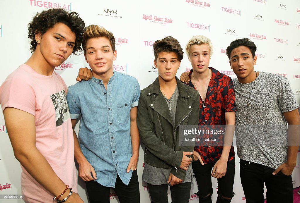 New District attends TigerBeat's Official Teen Choice Awards Pre-Party Sponsored by NYX Professional Makeup and Rock Your Hair at HYDE Sunset: Kitchen + Cocktails on July 28, 2016 in West Hollywood, California.