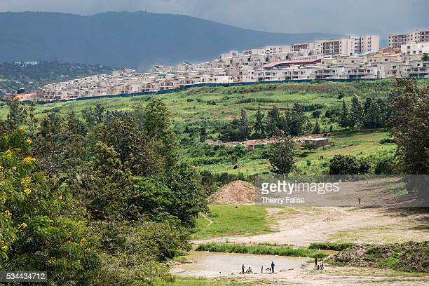 A new district is under construction on a Kigali hill Kigali with a population of more than one million is Rwandas capital and main city The city is...