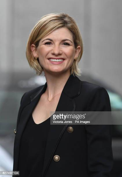 New Doctor Who star Jodie Whittaker arriving at ITV Studios in London after she described becoming the first woman to play the Time Lord as...