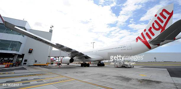 New domestic pier for Virgin Australia at Sydney Airport on February 9, 2012 in Sydney, Australia.