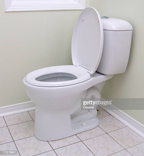 Toilet bowl stock photos and pictures getty images - Picture of bathroom ...