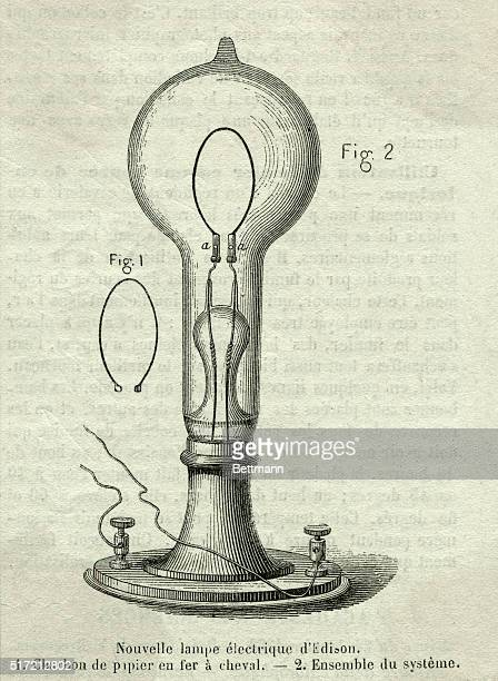 New Edison electric lamp Undated engraving