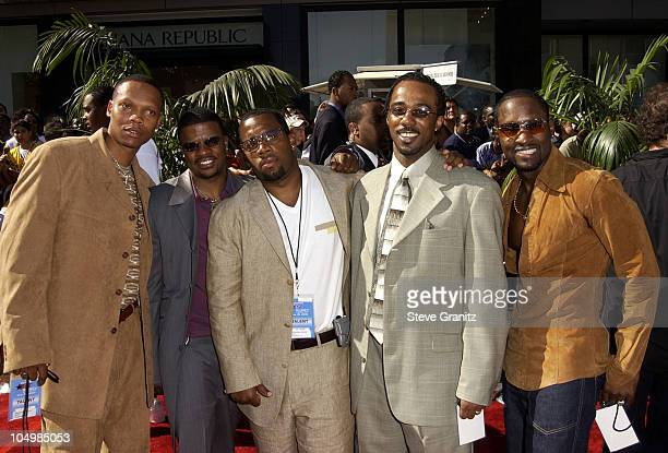 New Edition during The 2nd Annual BET Awards Arrivals at The Kodak Theater in Hollywood California United States