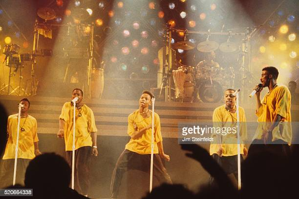 New Edition performs in Minnesota in 1989