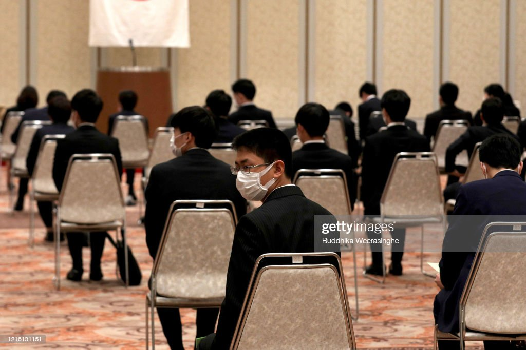 Concern In Japan As The Coronavirus Continue To Spread : News Photo