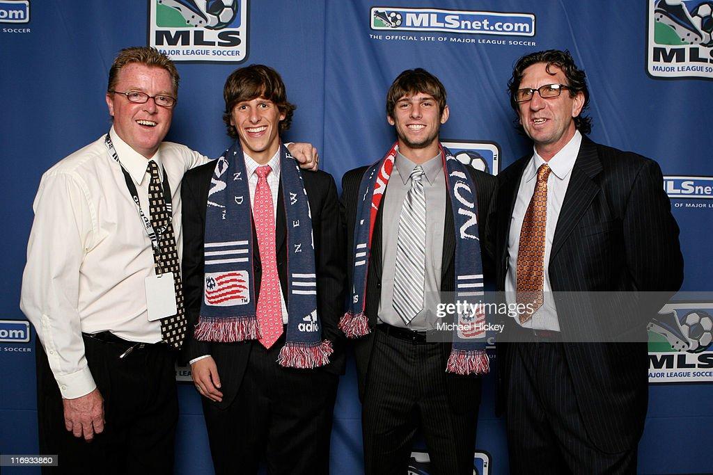 2007 MLS SuperDraft - January 12, 2007 : News Photo