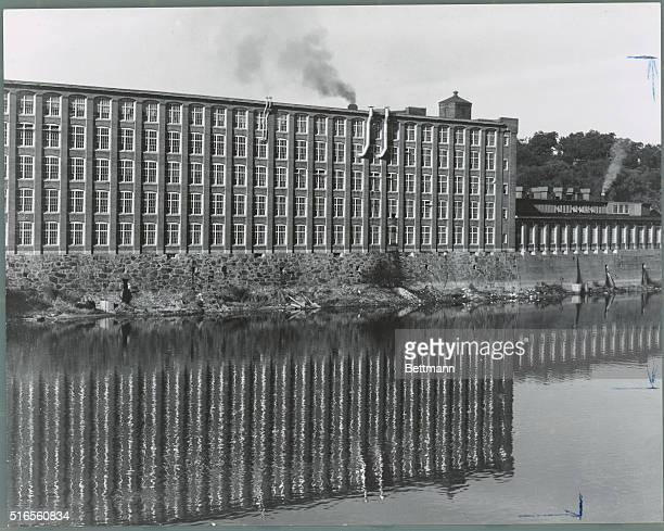 New England Mill in Lawrence Massachusetts on the Merrimac River